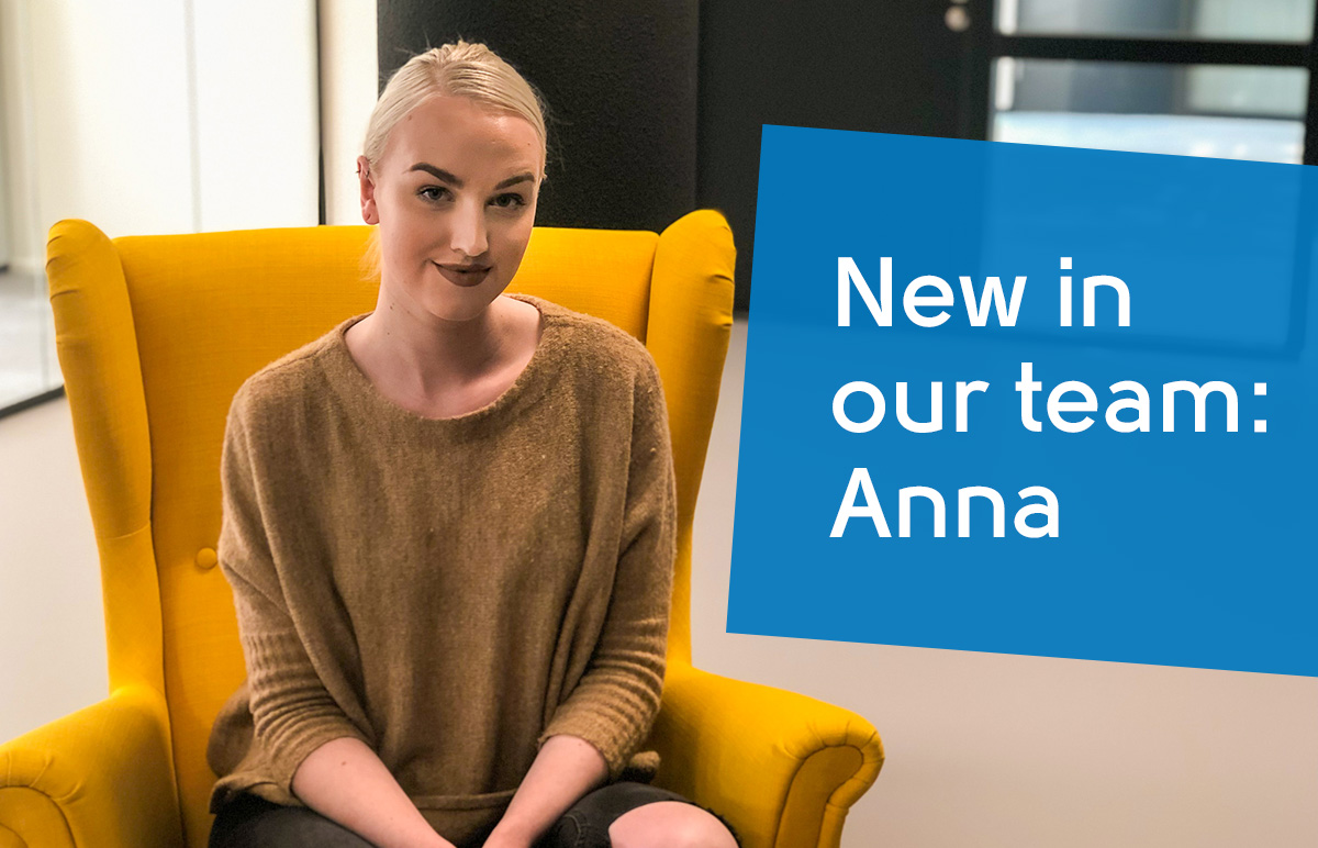 New in our team: Anna