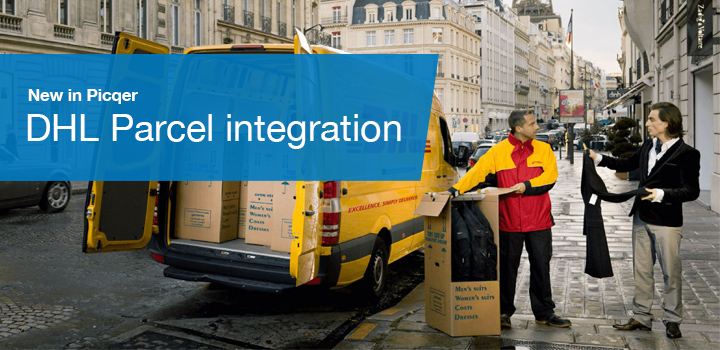 DHL integration for Picqer