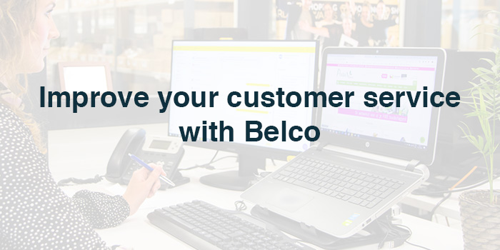 Improved customer service with Belco