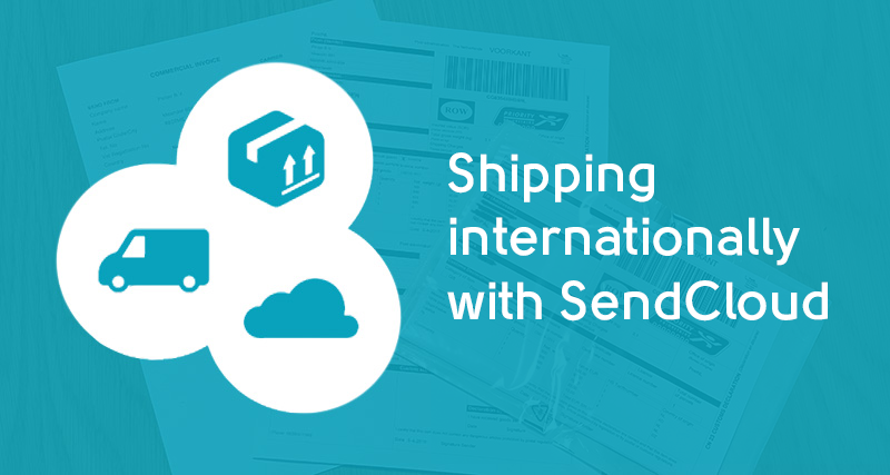 International shipment with sendcloud
