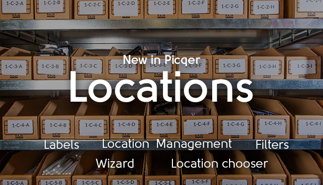 New: Location management in Picqer