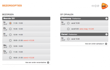 Magento PostNL Extension