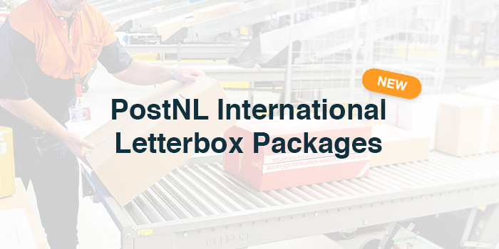 PostNL International letterbox packages