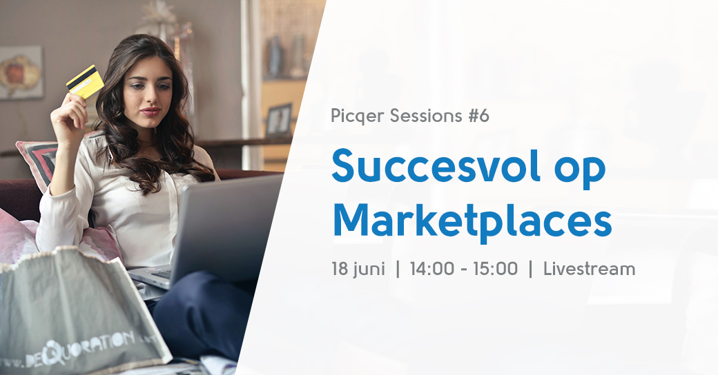 picqer session marketplaces livestream
